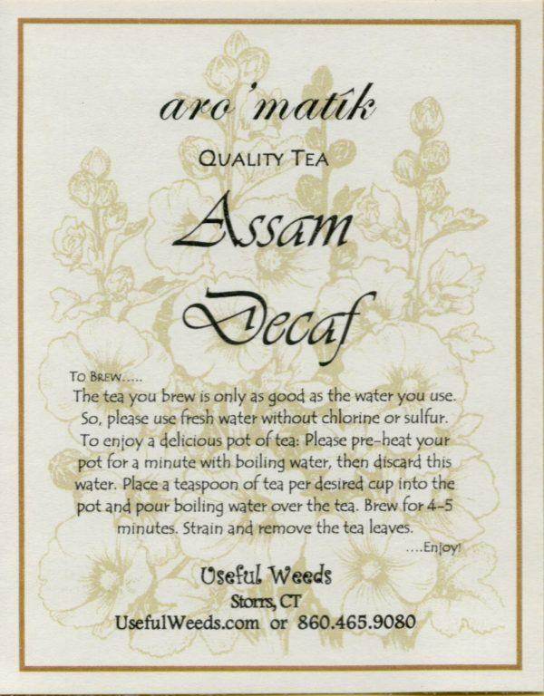 Assam_Decaf_Black Tea_Label_IMG_0009
