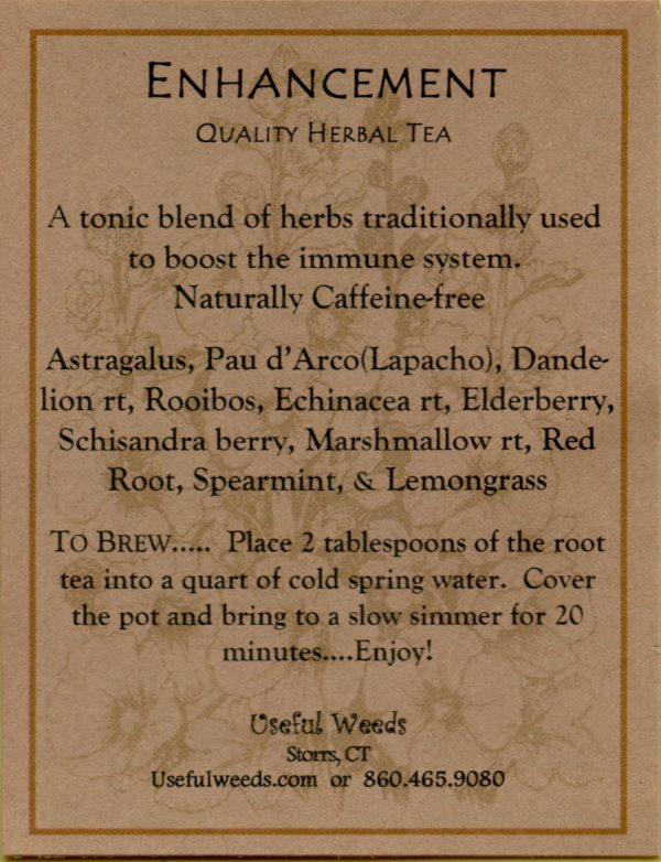 Enhancement Herbal Tea Label_IMG_0019