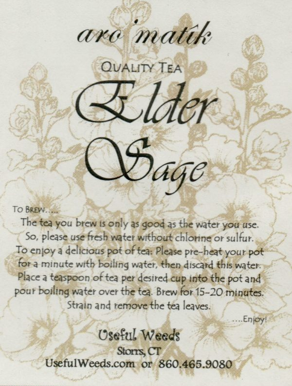 Elder Sage Herbal Tea Label_IMG_0021