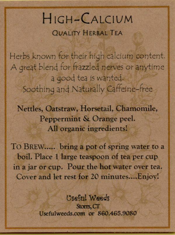 Hi Cal Herbal Tea Label_IMG_0028