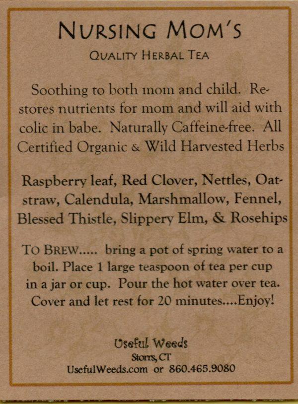 Nursing Moms Herbal Tea Label_IMG_0046