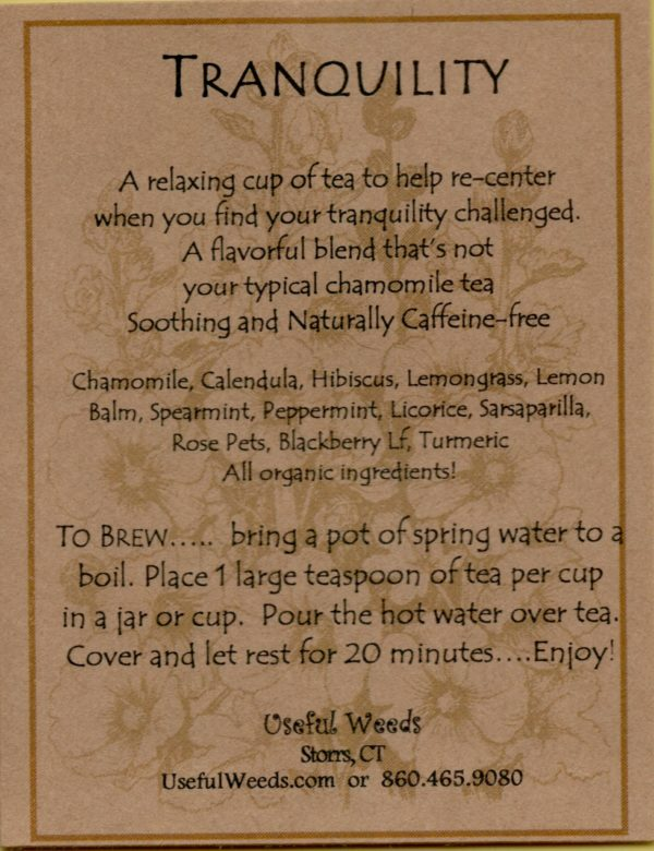 Tranquility Herbal Tea Label_IMG_0072