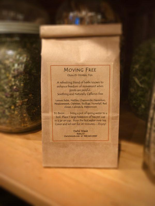 Moving Free Herbal Tea Bagged